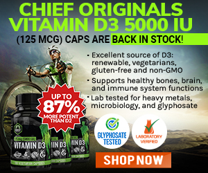 "Big Tech just seized monopoly control over all information, knowledge and ""news"" Chief-Originals-Vitamin-D3-Back-in-Stock-MR"