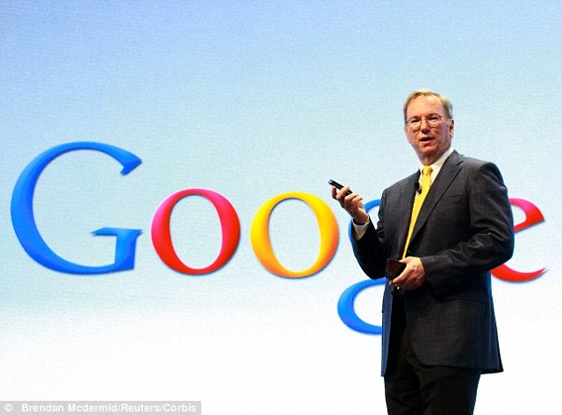 """Google chairman wants AI robots to """"solve problems"""" of"""