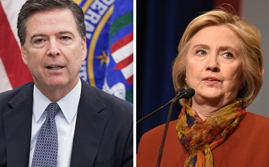 James-Comey-Hillary-Clinton-e1475165140735