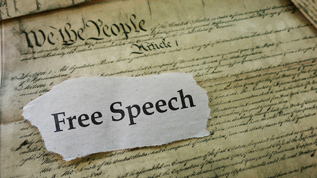 Why the federal government should yank all frequencies from telecom co unless they enforce First Amendment protections for mobile users Free-speech